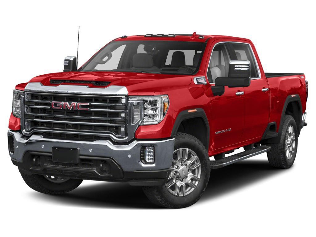 Red 2021 GMC Sierra 3500HD