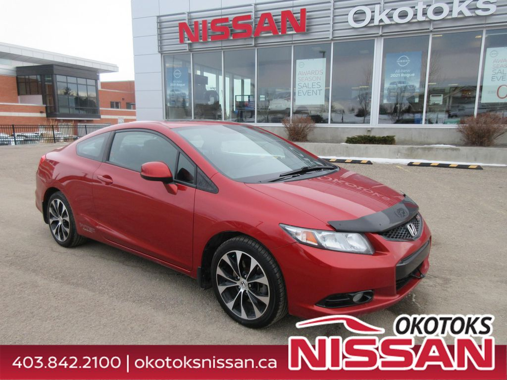 Orange[Sunburst Orange Pearl] 2013 Honda Civic Cpe