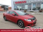 Orange[Sunburst Orange Pearl] 2013 Honda Civic Cpe Primary Listing Photo in Okotoks AB