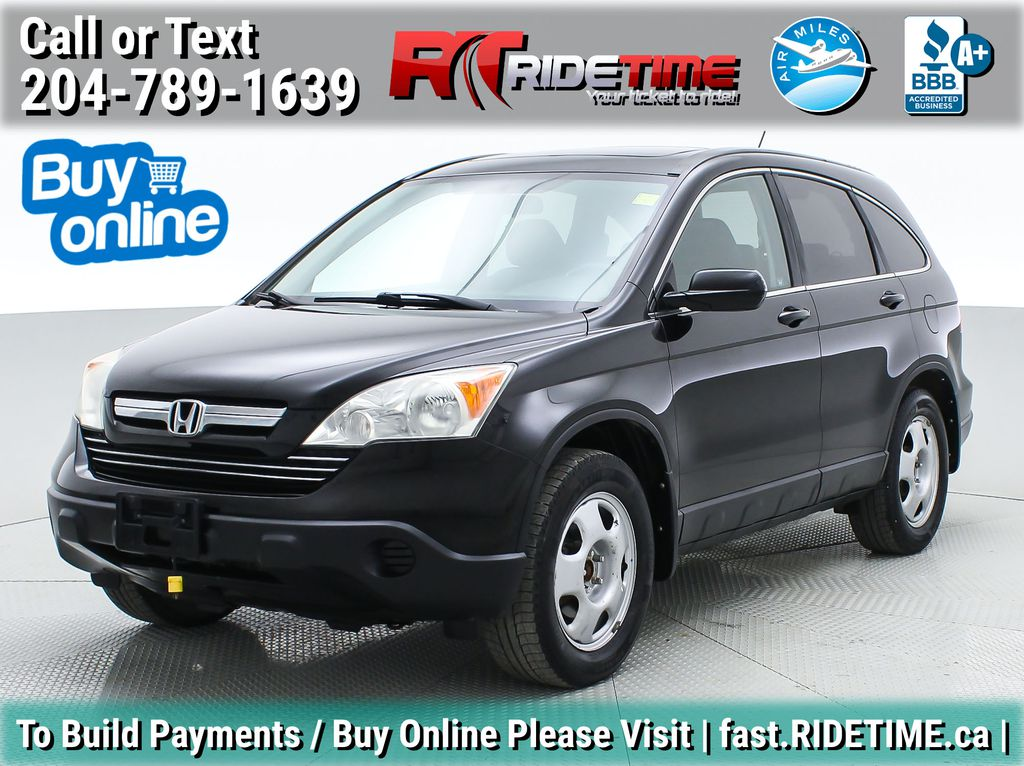 Black[Crystal Black Pearl] 2009 Honda CR-V EX-L AWD - Leather, Sunroof, CHEAP SUV