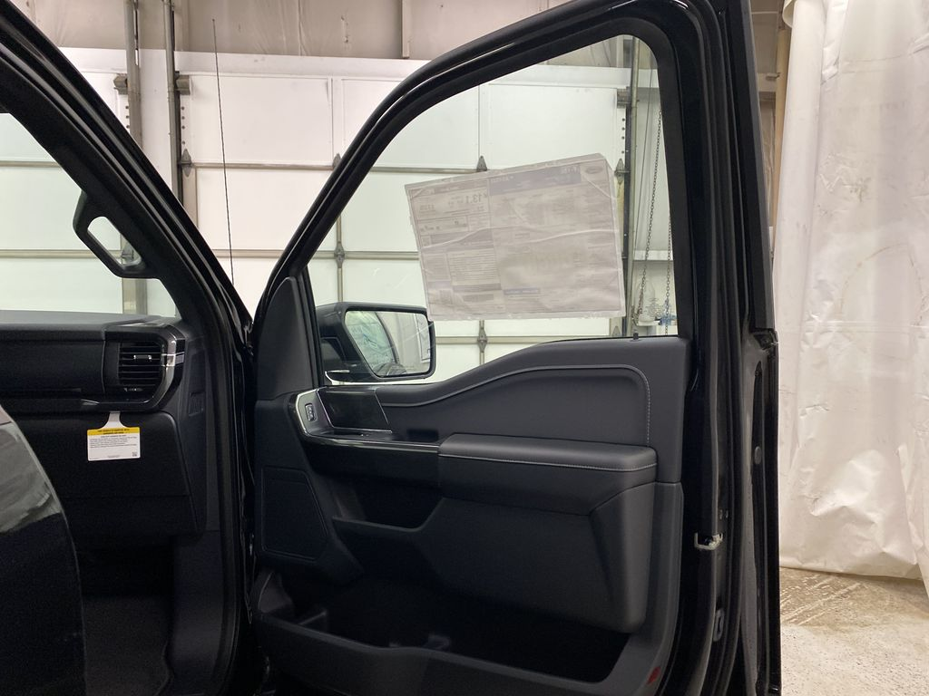 Black[Agate Black Metallic] 2021 Ford F-150 Right Front Interior Door Panel Photo in Dartmouth NS