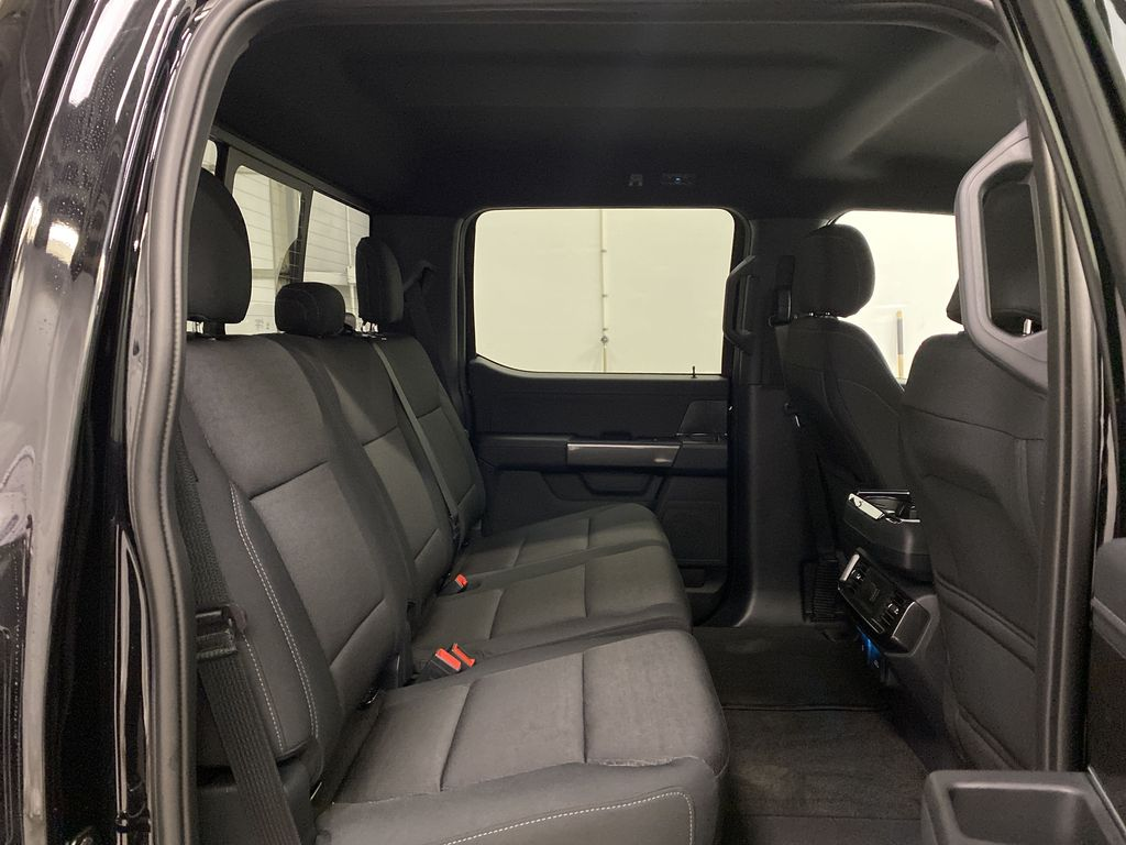 Black[Agate Black Metallic] 2021 Ford F-150 Right Side Rear Seat  Photo in Dartmouth NS