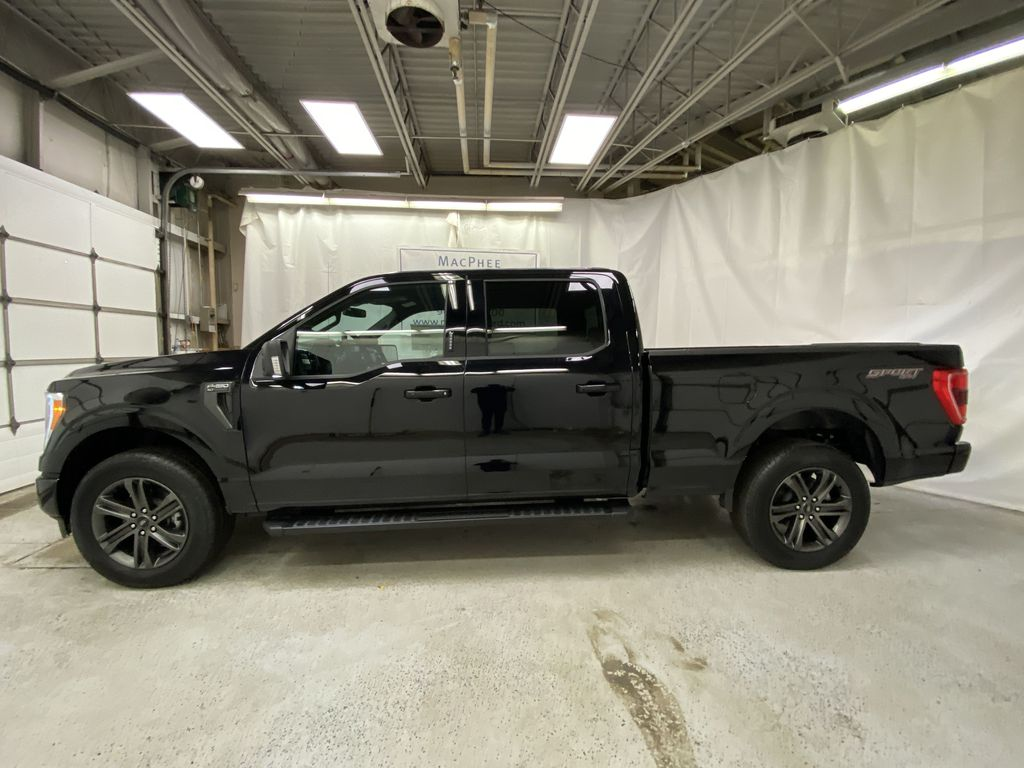 Black[Agate Black Metallic] 2021 Ford F-150 Left Side Photo in Dartmouth NS