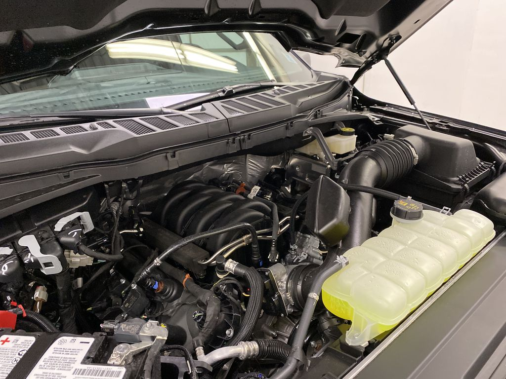Black[Agate Black Metallic] 2021 Ford F-150 Engine Compartment Photo in Dartmouth NS
