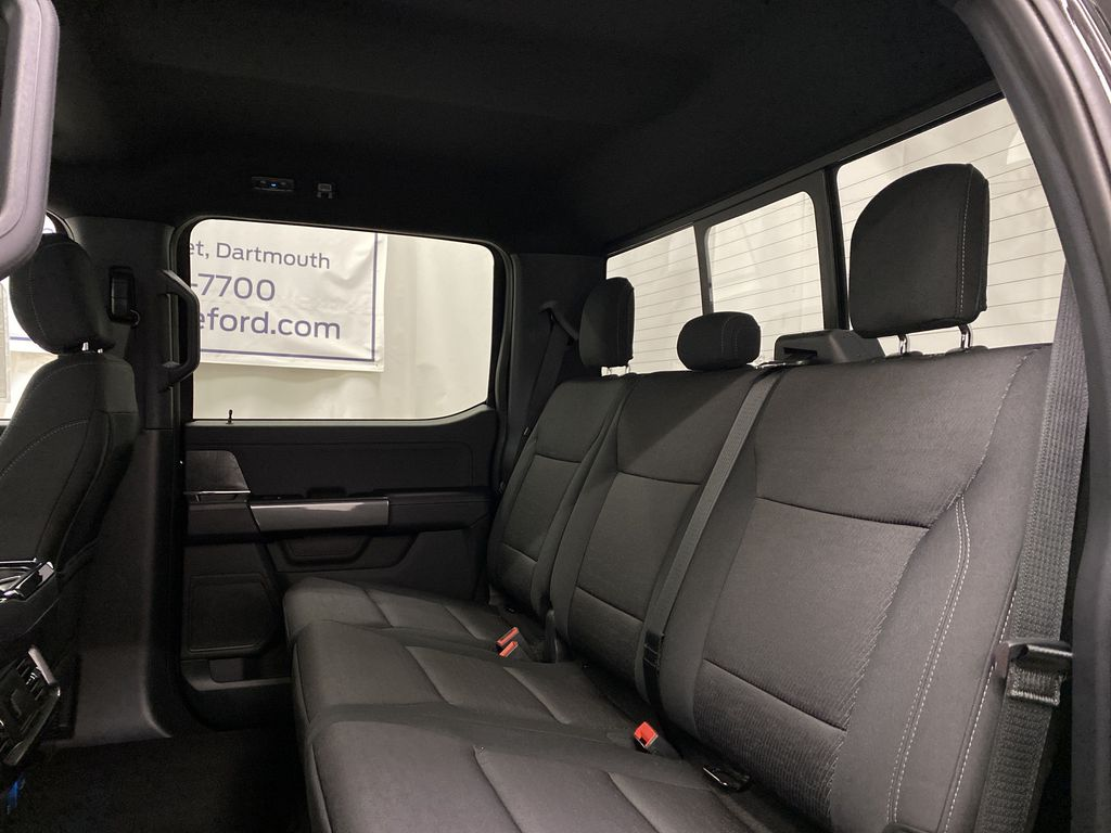 Black[Agate Black Metallic] 2021 Ford F-150 Left Side Rear Seat  Photo in Dartmouth NS