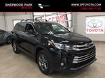 Black[Midnight Black Metallic] 2017 Toyota Highlander Limited AWD Primary Listing Photo in Sherwood Park AB