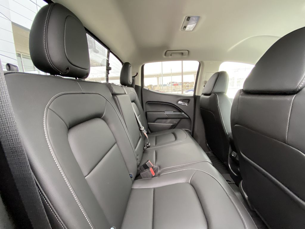 Red[Cherry Red Tintcoat] 2021 Chevrolet Colorado ZR2 Right Side Rear Seat  Photo in Calgary AB