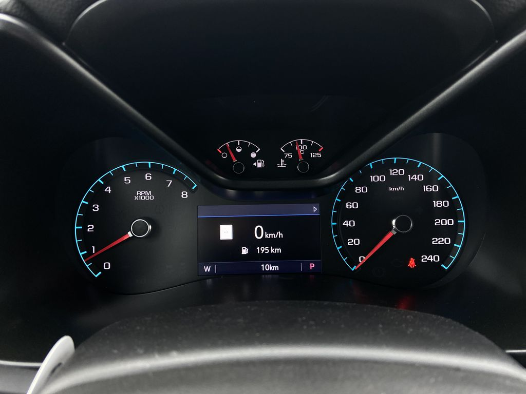 Red[Cherry Red Tintcoat] 2021 Chevrolet Colorado ZR2 Odometer Photo in Calgary AB