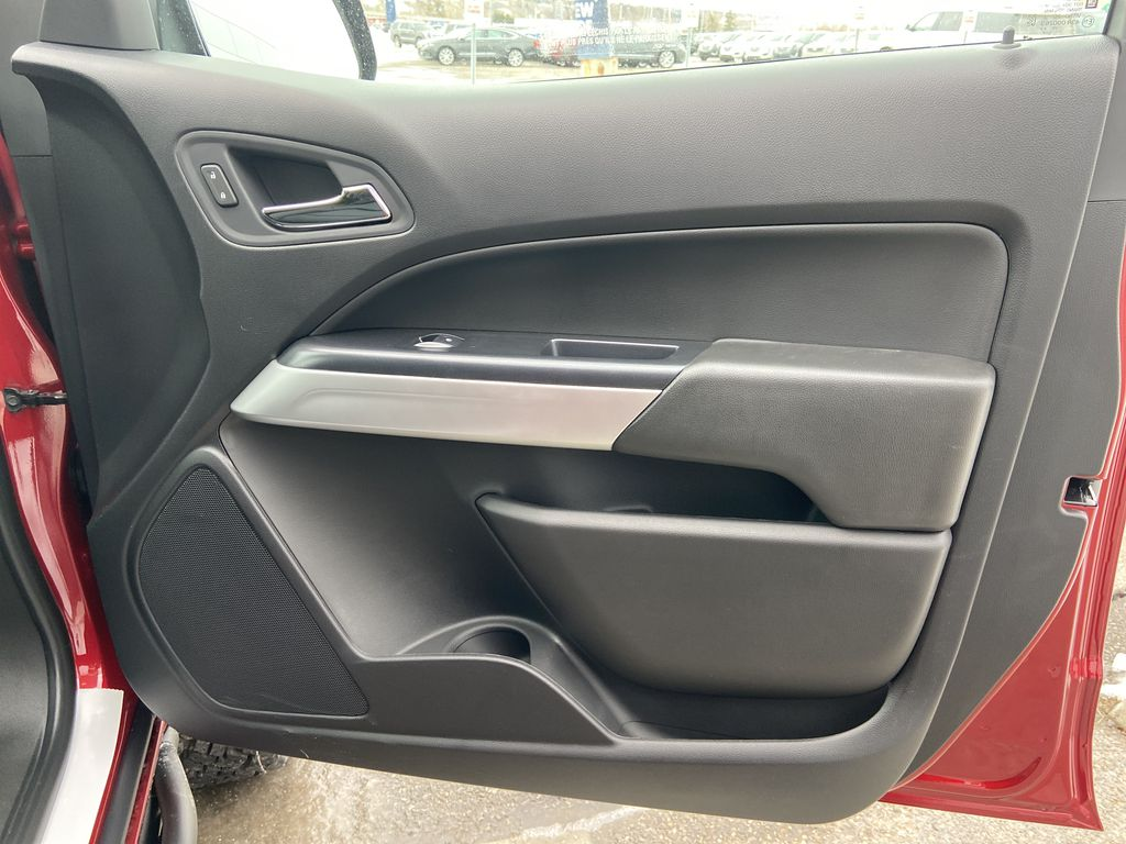 Red[Cherry Red Tintcoat] 2021 Chevrolet Colorado ZR2 Right Front Interior Door Panel Photo in Calgary AB