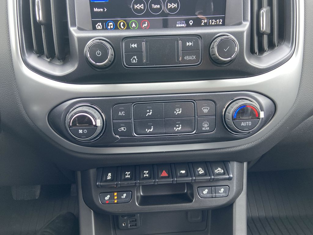 Red[Cherry Red Tintcoat] 2021 Chevrolet Colorado ZR2 Central Dash Options Photo in Calgary AB