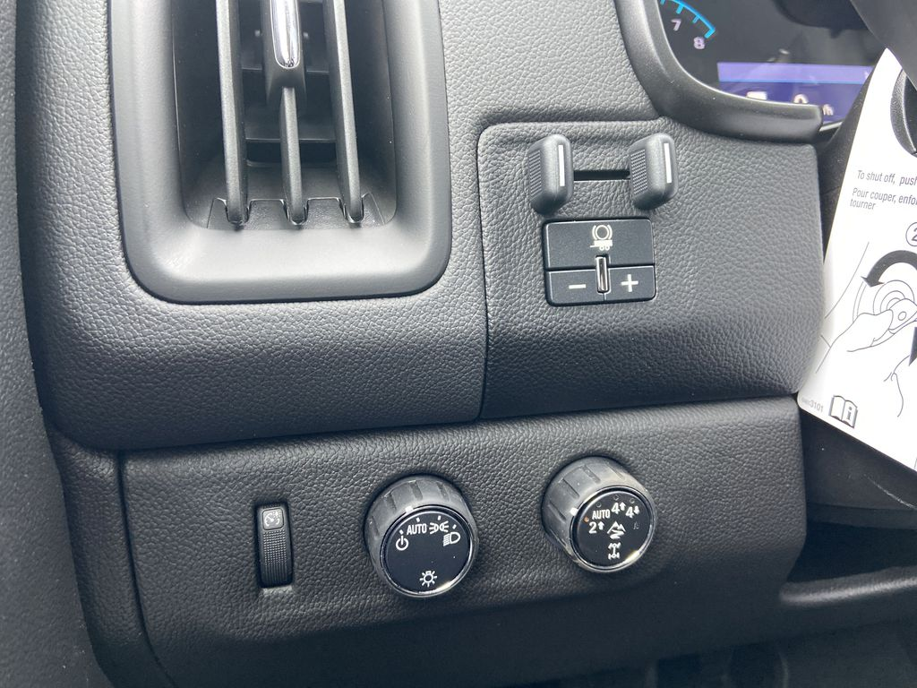 Red[Cherry Red Tintcoat] 2021 Chevrolet Colorado ZR2 Center Console Photo in Calgary AB