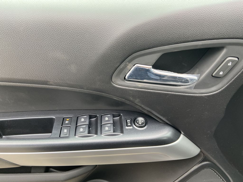 Red[Cherry Red Tintcoat] 2021 Chevrolet Colorado ZR2  Driver's Side Door Controls Photo in Calgary AB