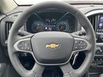 Red[Cherry Red Tintcoat] 2021 Chevrolet Colorado ZR2 Steering Wheel and Dash Photo in Calgary AB