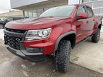 Red[Cherry Red Tintcoat] 2021 Chevrolet Colorado ZR2 Left Front Head Light / Bumper and Grill in Calgary AB
