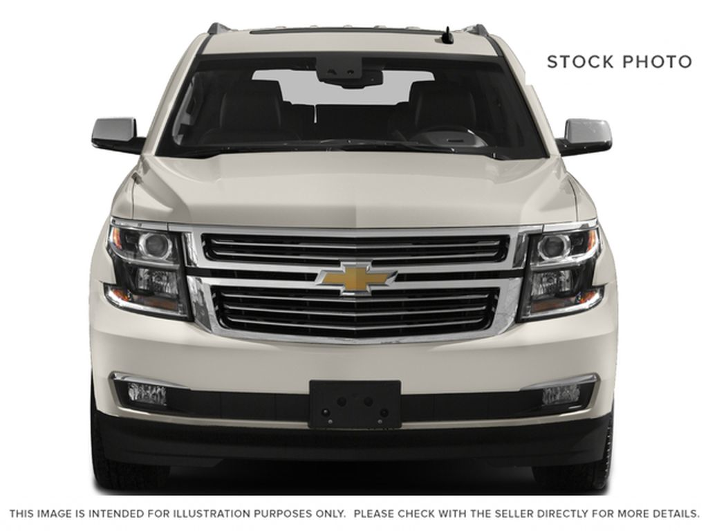 White[Iridescent Pearl Tricoat] 2017 Chevrolet Tahoe Front Vehicle Photo in Edmonton AB