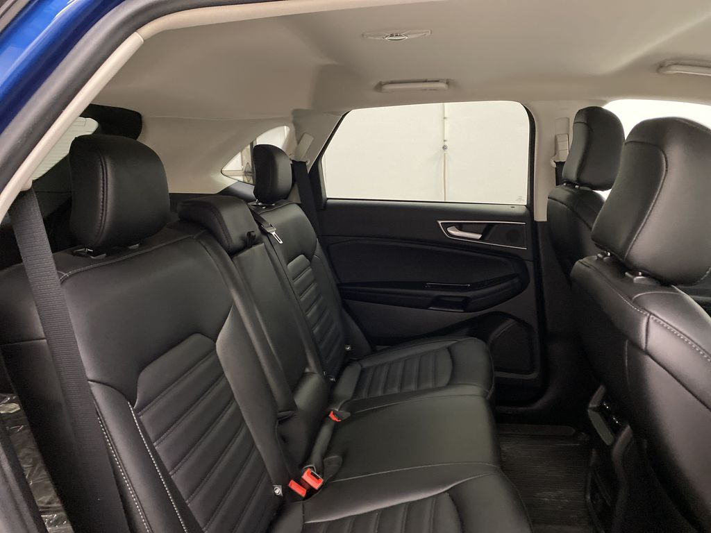 Blue[Atlas Blue Metallic] 2020 Ford Edge Right Side Rear Seat  Photo in Dartmouth NS