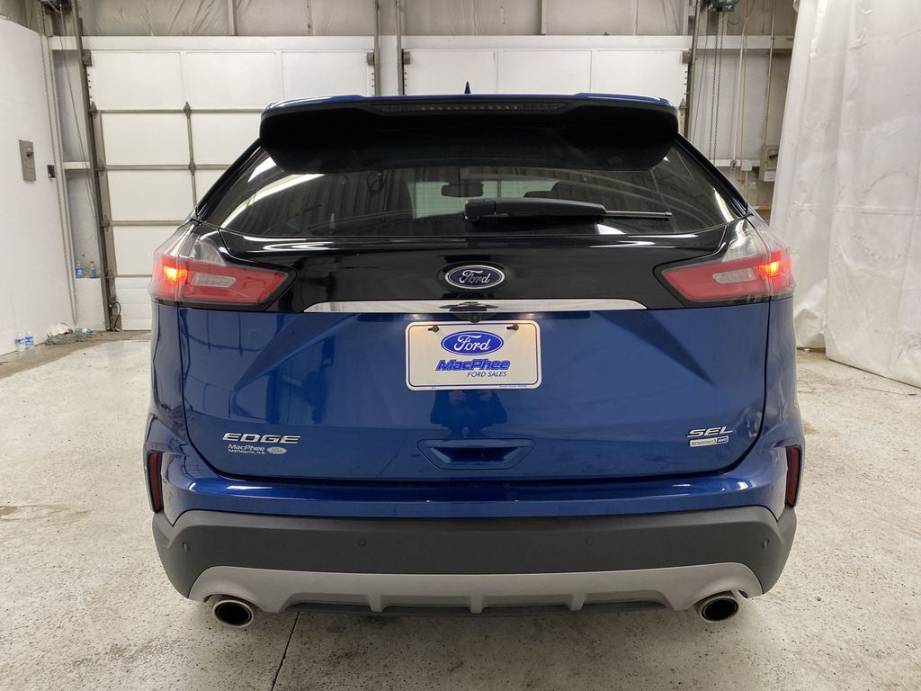 Blue[Atlas Blue Metallic] 2020 Ford Edge Rear of Vehicle Photo in Dartmouth NS
