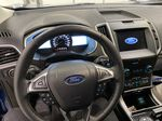 Blue[Atlas Blue Metallic] 2020 Ford Edge Steering Wheel and Dash Photo in Dartmouth NS