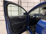 Blue[Atlas Blue Metallic] 2020 Ford Edge Left Front Interior Door Panel Photo in Dartmouth NS