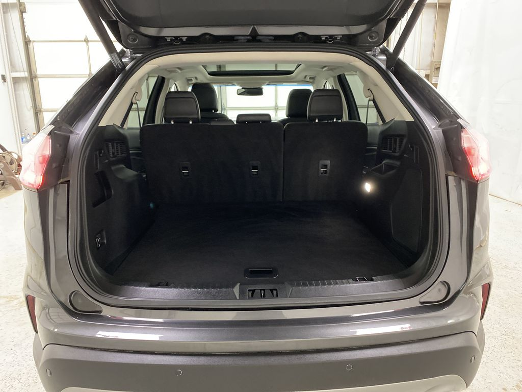 Silver[Iconic Silver Metallic] 2020 Ford Edge Trunk / Cargo Area Photo in Dartmouth NS