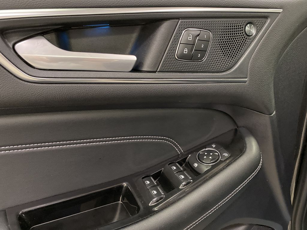Silver[Iconic Silver Metallic] 2020 Ford Edge  Driver's Side Door Controls Photo in Dartmouth NS