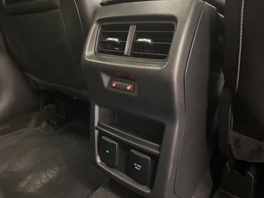 Silver[Iconic Silver Metallic] 2020 Ford Edge Passenger Rear Door Controls Photo in Dartmouth NS