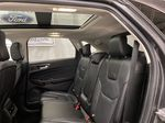 Silver[Iconic Silver Metallic] 2020 Ford Edge Left Side Rear Seat  Photo in Dartmouth NS