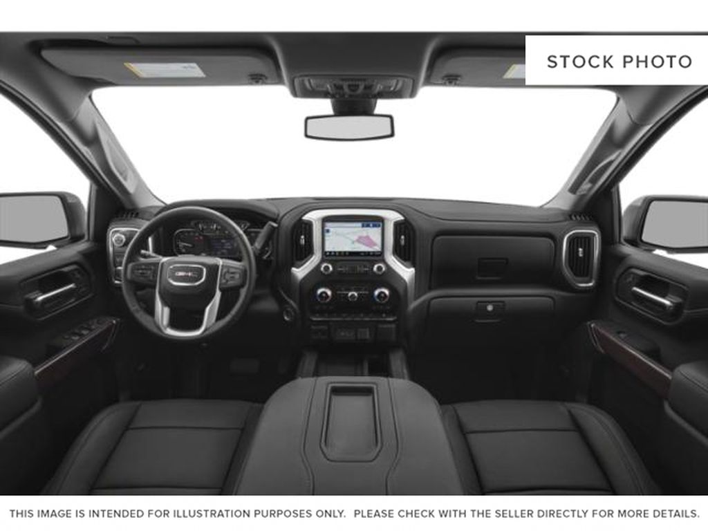 Black[Onyx Black] 2021 GMC Sierra 1500 Central Dash Options Photo in Edmonton AB
