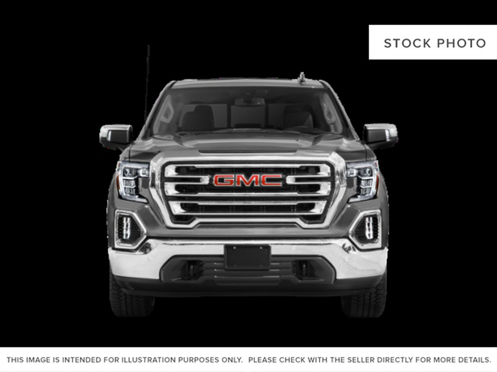 Black[Onyx Black] 2021 GMC Sierra 1500 Front Vehicle Photo in Edmonton AB