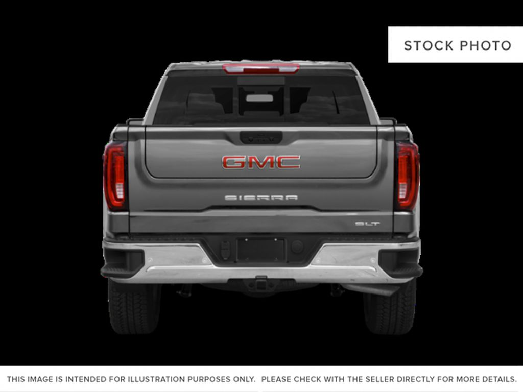Black[Onyx Black] 2021 GMC Sierra 1500 Rear of Vehicle Photo in Edmonton AB