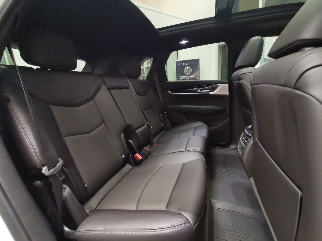 White[Crystal White Tricoat] 2021 Cadillac XT5 Right Side Rear Seat  Photo in Edmonton AB