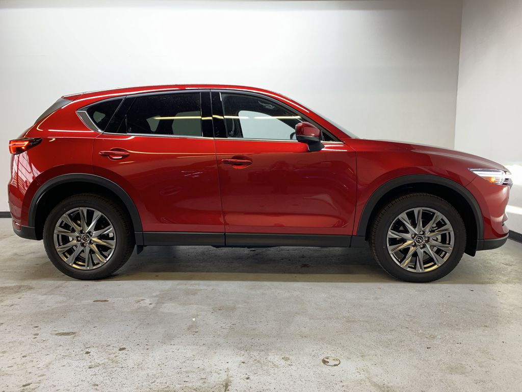 SOUL RED CRYSTAL METALLIC(46V) 2021 Mazda CX-5 Signature Right Side Photo in Edmonton AB