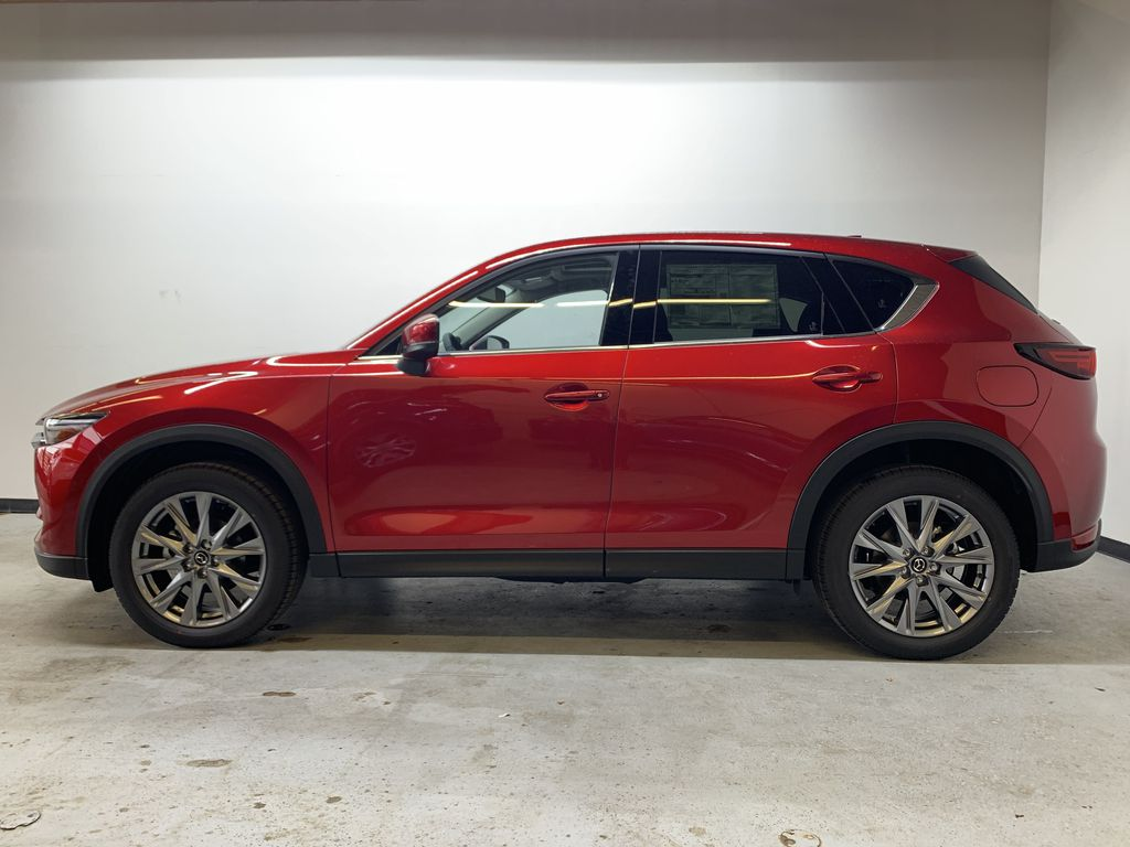 SOUL RED CRYSTAL METALLIC(46V) 2021 Mazda CX-5 GT AWD Left Side Photo in Edmonton AB