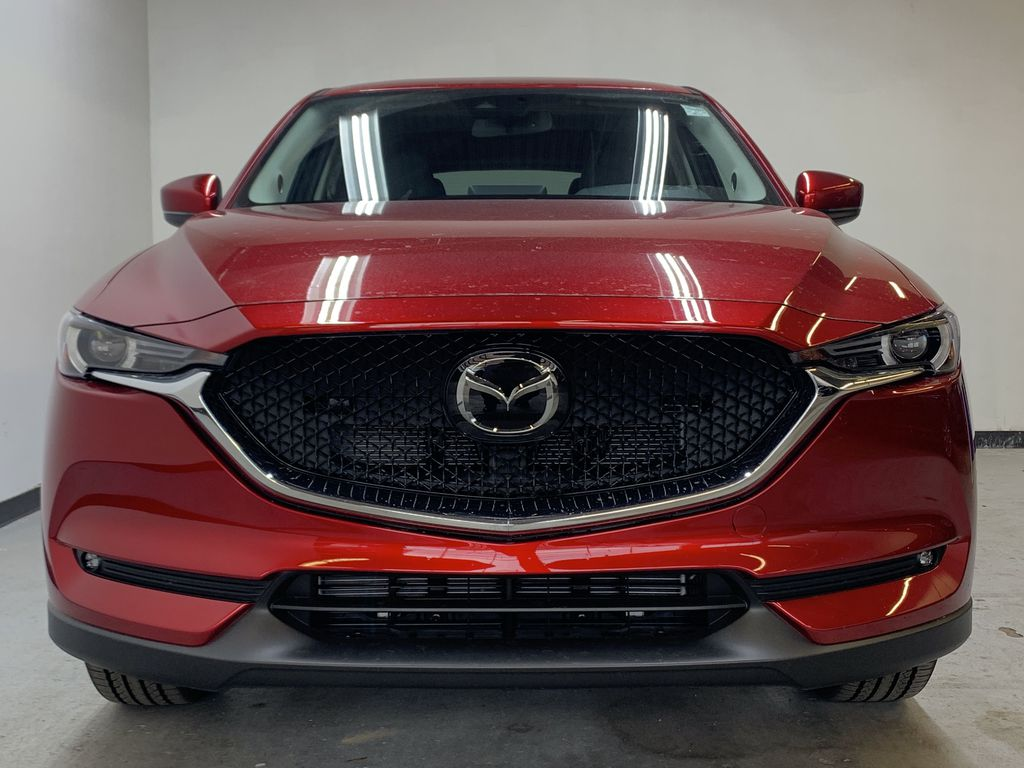SOUL RED CRYSTAL METALLIC(46V) 2021 Mazda CX-5 GT AWD Front Vehicle Photo in Edmonton AB