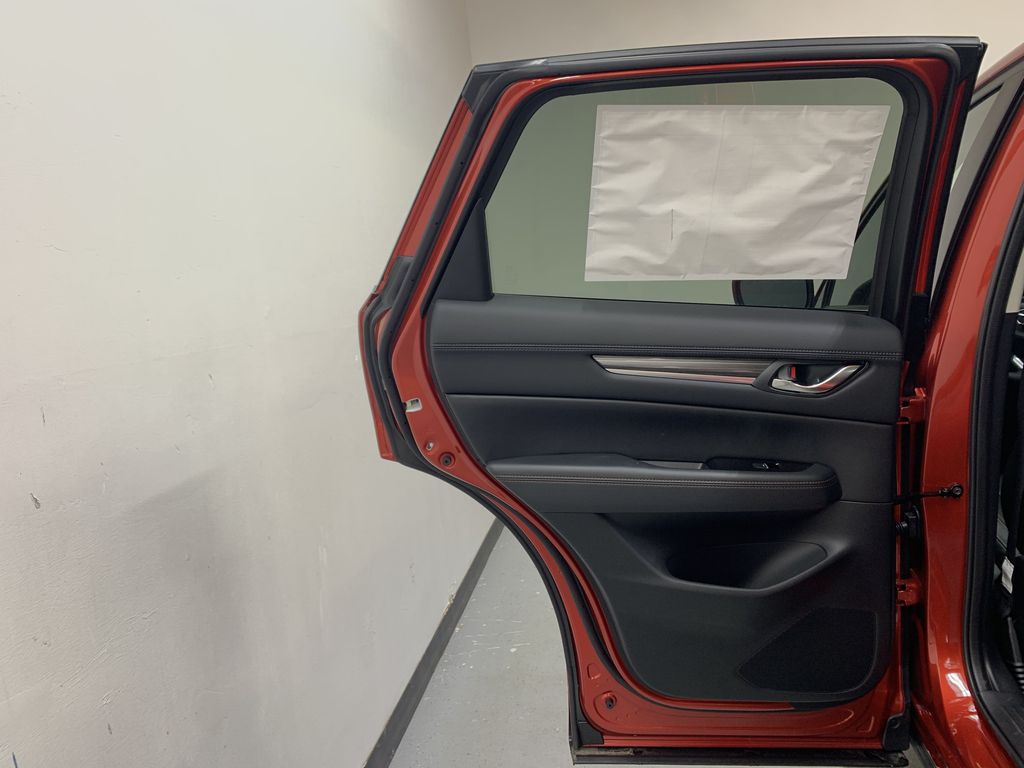 SOUL RED CRYSTAL METALLIC(46V) 2021 Mazda CX-5 GT AWD Left Rear Interior Door Panel Photo in Edmonton AB