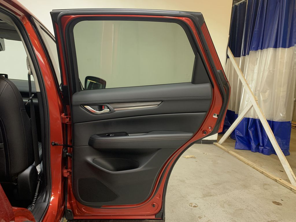 SOUL RED CRYSTAL METALLIC(46V) 2021 Mazda CX-5 GT AWD Right Rear Interior Door Panel Photo in Edmonton AB