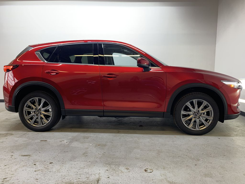 SOUL RED CRYSTAL METALLIC(46V) 2021 Mazda CX-5 GT AWD Right Side Photo in Edmonton AB