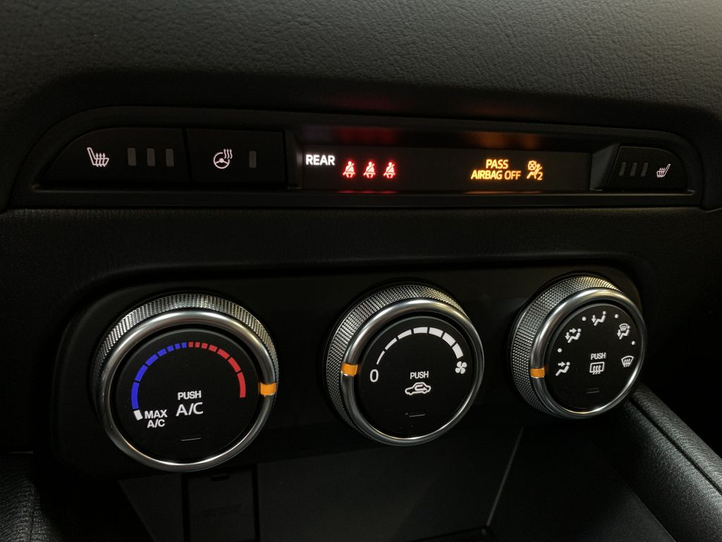 SOUL RED CRYSTAL METALLIC(46V) 2021 Mazda CX-5 GS AWD Central Dash Options Photo in Edmonton AB