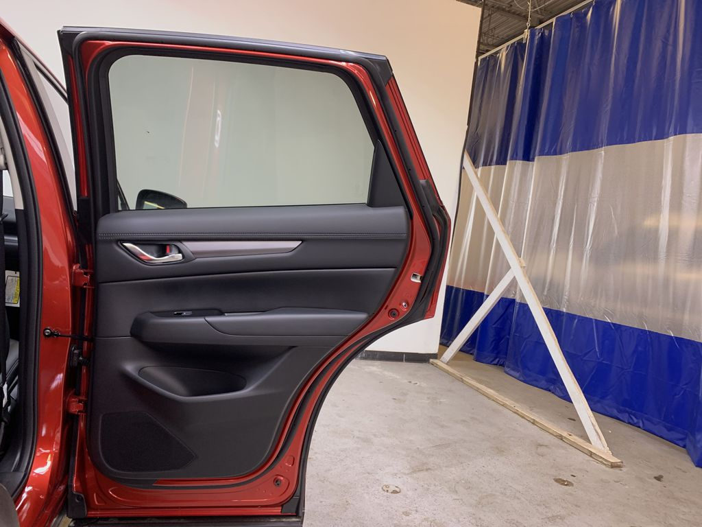SOUL RED CRYSTAL METALLIC(46V) 2021 Mazda CX-5 GS AWD Right Rear Interior Door Panel Photo in Edmonton AB