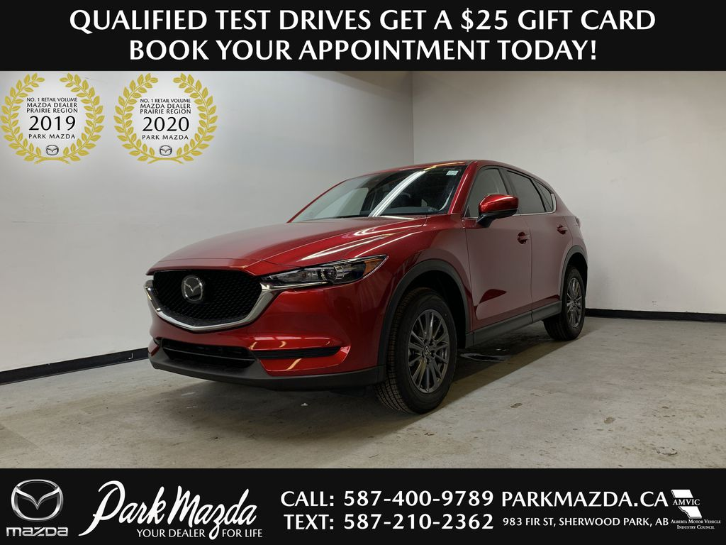 SOUL RED CRYSTAL METALLIC(46V) 2021 Mazda CX-5 GS AWD