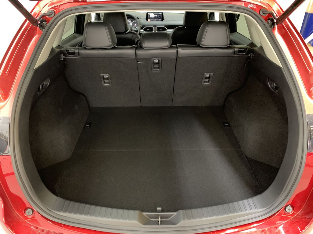 SOUL RED CRYSTAL METALLIC(46V) 2021 Mazda CX-5 GS AWD Trunk / Cargo Area Photo in Edmonton AB