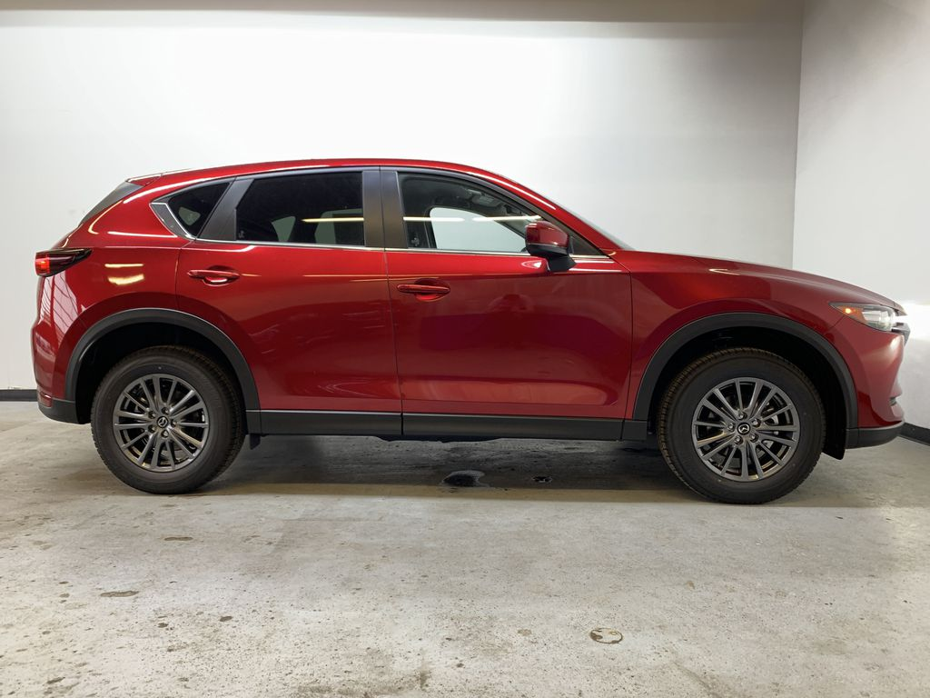 SOUL RED CRYSTAL METALLIC(46V) 2021 Mazda CX-5 GS AWD Right Side Photo in Edmonton AB