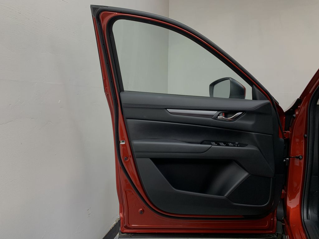 SOUL RED CRYSTAL METALLIC(46V) 2021 Mazda CX-5 GS AWD Left Front Interior Door Panel Photo in Edmonton AB