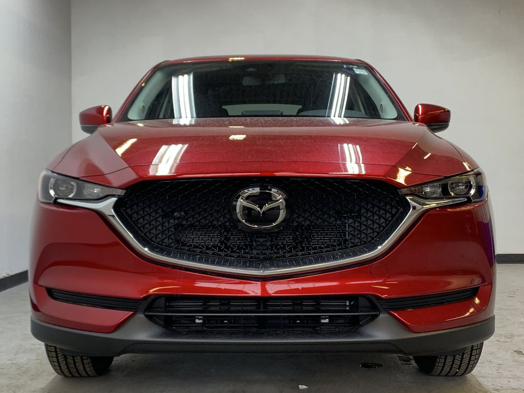SOUL RED CRYSTAL METALLIC(46V) 2021 Mazda CX-5 GS AWD Front Vehicle Photo in Edmonton AB