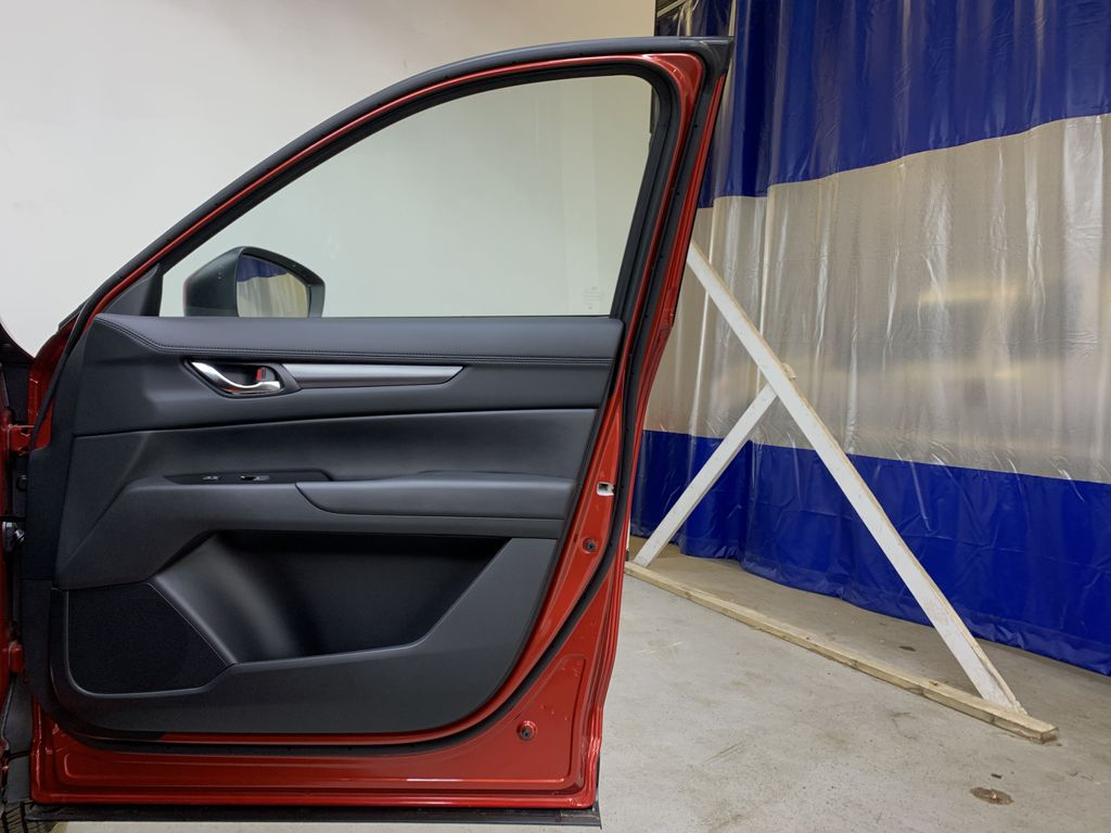 SOUL RED CRYSTAL METALLIC(46V) 2021 Mazda CX-5 GS AWD Right Front Interior Door Panel Photo in Edmonton AB