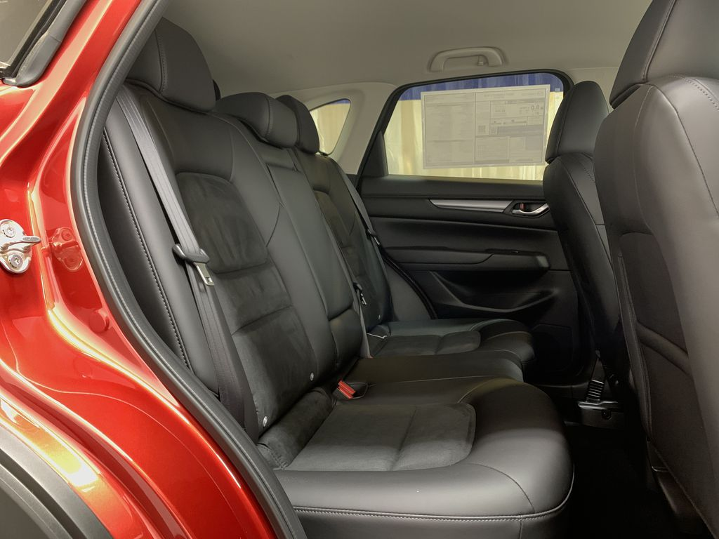 SOUL RED CRYSTAL METALLIC(46V) 2021 Mazda CX-5 GS AWD Right Side Rear Seat  Photo in Edmonton AB