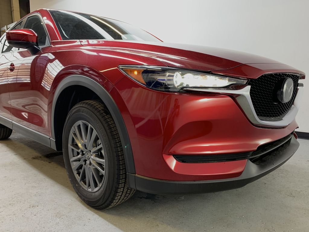 SOUL RED CRYSTAL METALLIC(46V) 2021 Mazda CX-5 GS AWD Right Front Corner Photo in Edmonton AB