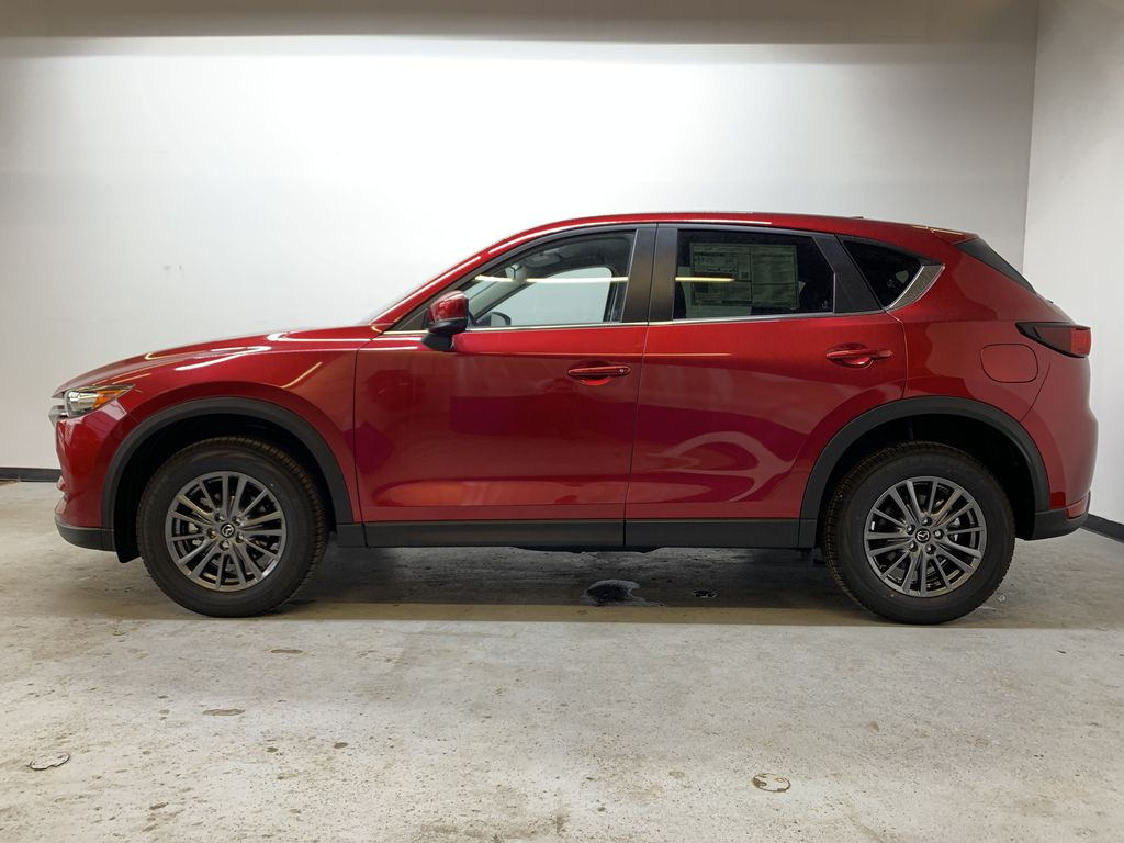 SOUL RED CRYSTAL METALLIC(46V) 2021 Mazda CX-5 GS AWD Left Side Photo in Edmonton AB