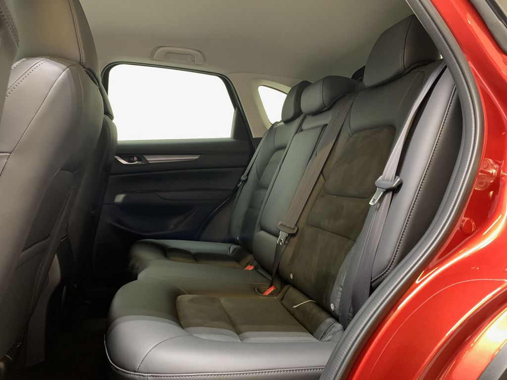 SOUL RED CRYSTAL METALLIC(46V) 2021 Mazda CX-5 GS AWD Left Side Rear Seat  Photo in Edmonton AB