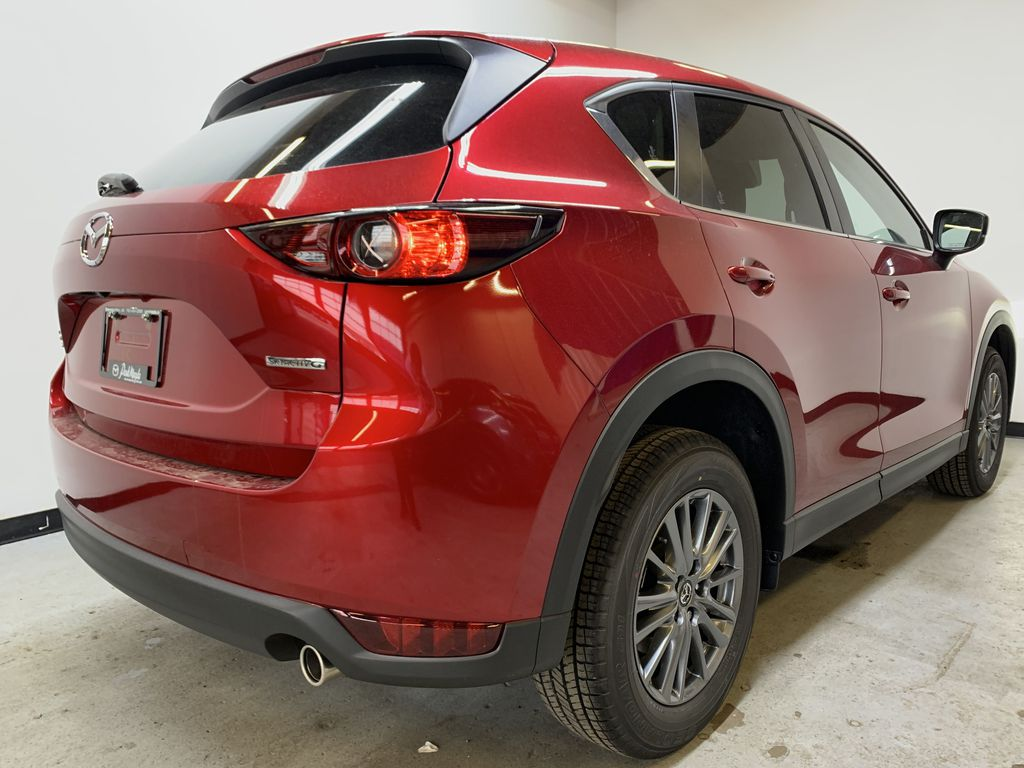 SOUL RED CRYSTAL METALLIC(46V) 2021 Mazda CX-5 GS AWD Right Rear Corner Photo in Edmonton AB
